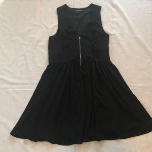 Express size 10 black dress